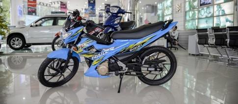 Can canh Suzuki Raider 150 tai Sai Gon