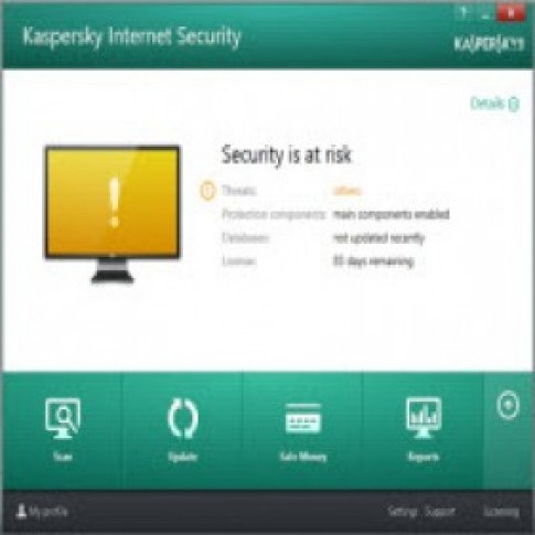 Cap nhat mien phi Kaspersky Internet Security 2014