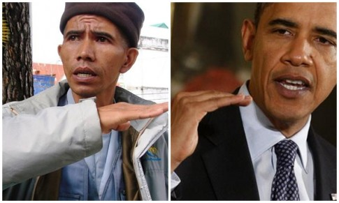 Cau chuyen ve nguoi tu si giong Tong thong Obama o doi sim