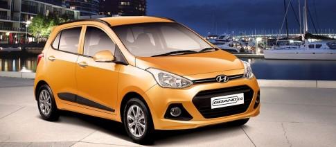 Hyundai Grand i10: ngoi sao moi trong lang xe nho