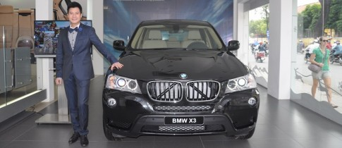 "Quang Dung ""tau"" BMW X3 thay cho Mercedes"