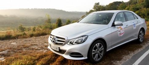 Trai nghiem sau vo lang Mercedes-Benz E250 2014