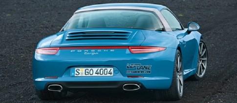 Xe Porsche 911 Targa tro lai vao nam 2015
