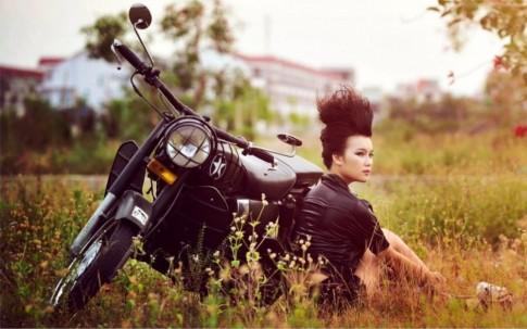 Người đẹp xứ Huế 'phiêu' cùng môtô