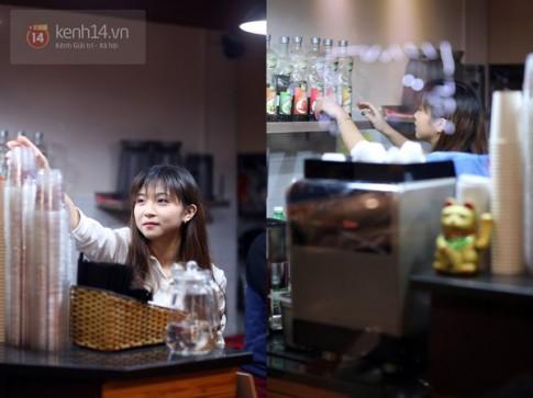 Những cô bé phục vụ xinh đẹp khắp các quán cafe ở Hà Nội