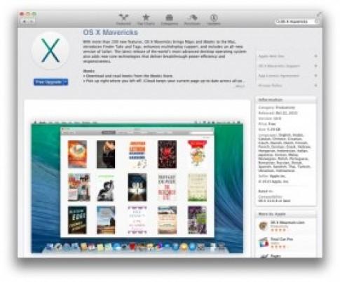 Phien ban Mac OS X 10.9 Mavericks da ho tro tieng Viet