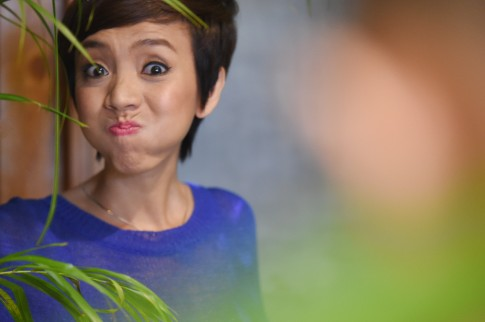 Thu Trang tung khoc nac vi khong co tien mua sua cho con