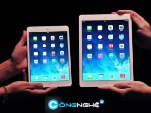 Vi sao iPad mini retina dang mua va dang nang cap hon la iPad Air?