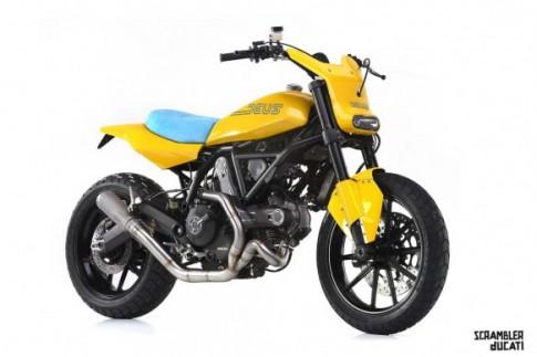 Ba phien ban do cuc dep cua mau xe sap duoc ban tai VN Ducati Scrambler