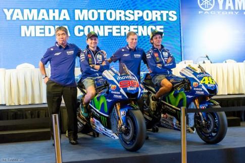 Yamaha M1 2015 và R25 2015 cùng xuất hiện tại Malaysia