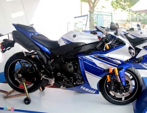 5 mau xe the thao dang duoc ban tai Viet Nam cua Yamaha