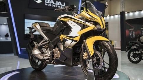 Bajaj Pulsar RS200 chiec sportbike nhanh nhat cua hang xe An Do