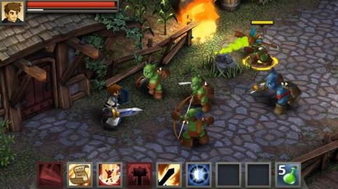 Battleheart: Legacy - Bom tan nhap vai iOS trinh lang Android