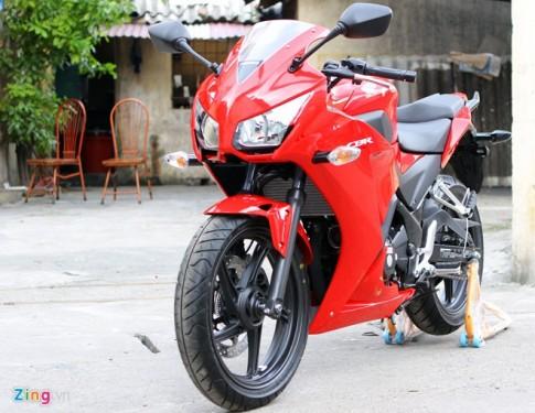 Cận cảnh Honda CBR300R ABS 2014 có giá 250 triệu đồng tại Hà Nội