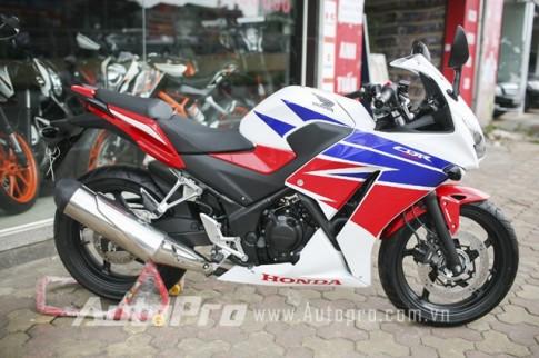 Cận cảnh Honda CBR300R phiên bản HRC tại Hà Nội
