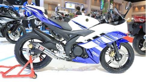 Can canh Yamaha YZF-R15 2014 tai Bangkok Motor Show 2014