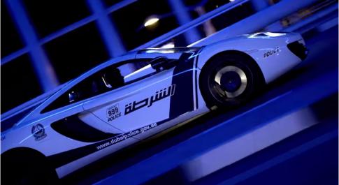 Canh sat Dubai tung video khoe dan sieu xe