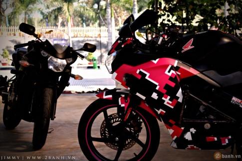 Cặp đôi Honda CBR150 gây chú ý tại sự kiện Exciter Bình Dương