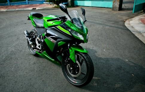 CBR150R do thanh Kawasaki Ninja 300 tai Viet Nam