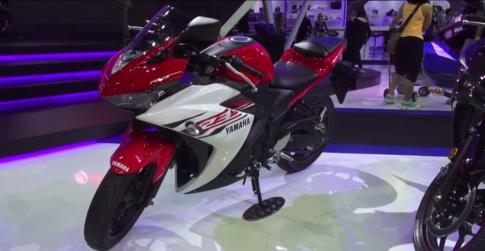 [Clip] Yamaha R3 tại Bangkok Motor Show 2015