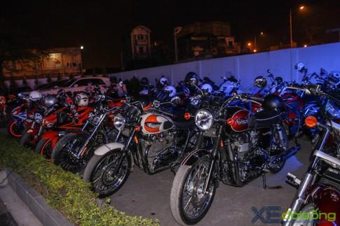 Dàn xe mô tô PKL Hà Nội tề tựu chào mừng sự kiện ra mắt BMW Motorrad