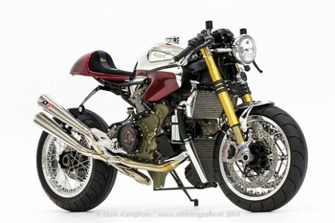 Ducati 1199 Panigale S phong cach doc nhat vo nhi cung cafe racer