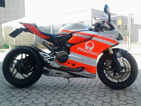 Ducati 1199 Pramac Replica - ve sau thoat xac