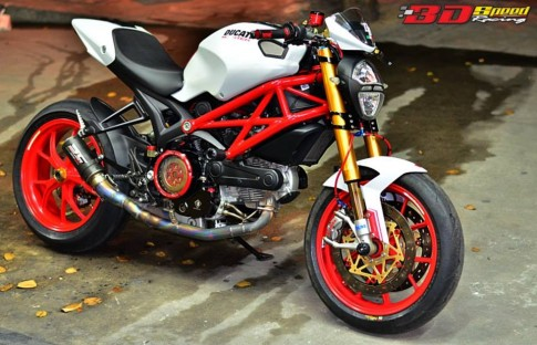 Ducati Monster 796 Khi con quy mot gio do cuc chat