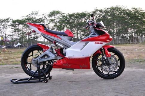 Exciter độ cực chất thành một chiếc siêu mô tô Ducati