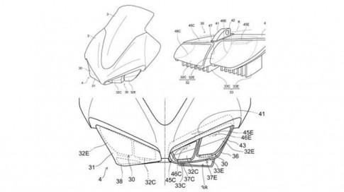 Honda CBR1000RR moi se duoc trang bi den pha LED