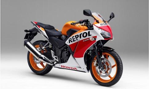 Honda CBR250R ra mat phien ban Repsol