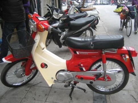 Honda DD đỏ mẫu xe huyền thoại của giới Hà Thành