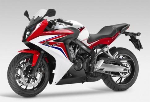 Honda gioi thieu sportbike CBR650F 2014