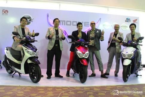 Honda Moove mới vừa ra mắt tại Thái Lan