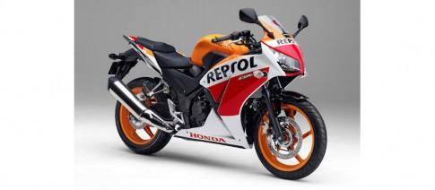 Honda trinh lang CBR250R phien ban dac biet