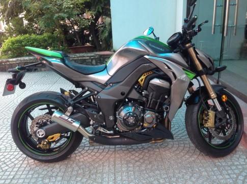 Kawasaki Z1000 2014 gan du do choi