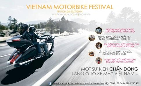 Ngay hoi VietNam Motorbike Festival diem den cua nhung cuoc choi