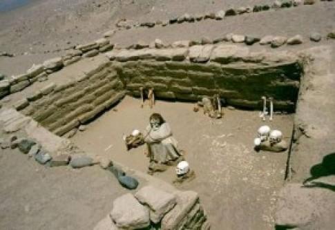 Nghia trang 'cuoi' o Peru