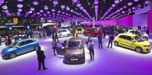 Paris Motor Show 2014: Anh sang va xe hoi hoi tu