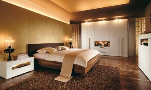 Phong thủy phòng ngủ: Vì sao không nên kê giường ngủ giữa phòng?