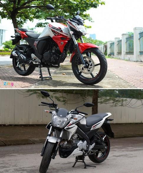 So sanh Yamaha FZ150i va Yamaha FZ-S 2.0
