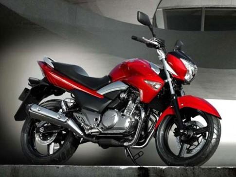 Suzuki trinh lang mau xe Inazuma 250 phan khoi