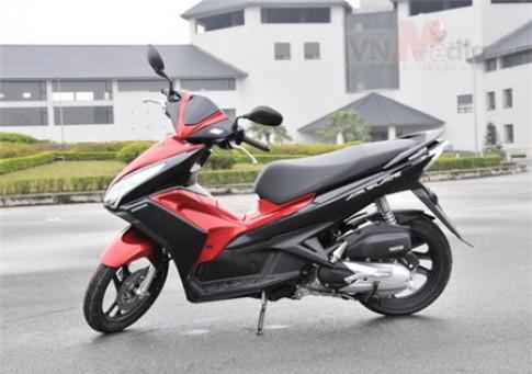 Top 10 xe máy bán chạy nhất tại Việt Nam năm 2014