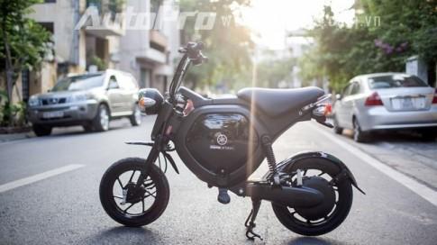 Yamaha EC-02 chiec xe dien nho nhung co vo