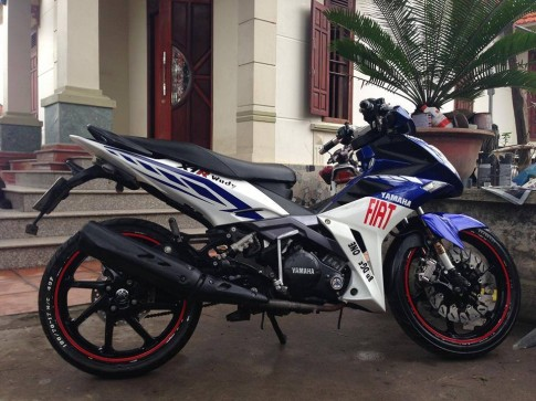 Yamaha Exciter do X1R rat chat va chieu choi voi style FIAT