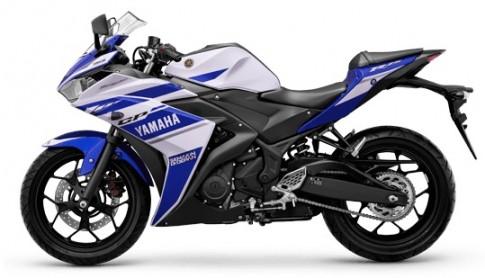 Yamaha R25 ban chinh hang tai Viet Nam voi gia 160 trieu dong