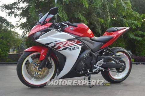 Yamaha R25 độ của 1 biker Indo