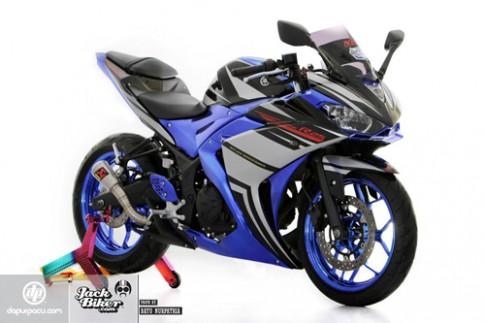 Yamaha R25 Do phong cach dan anh R6