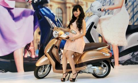 Yamaha trình làng xe tay ga Grande giá gần 40 triệu đồng