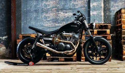 Yamaha XV950 phong cach Bobber co dien